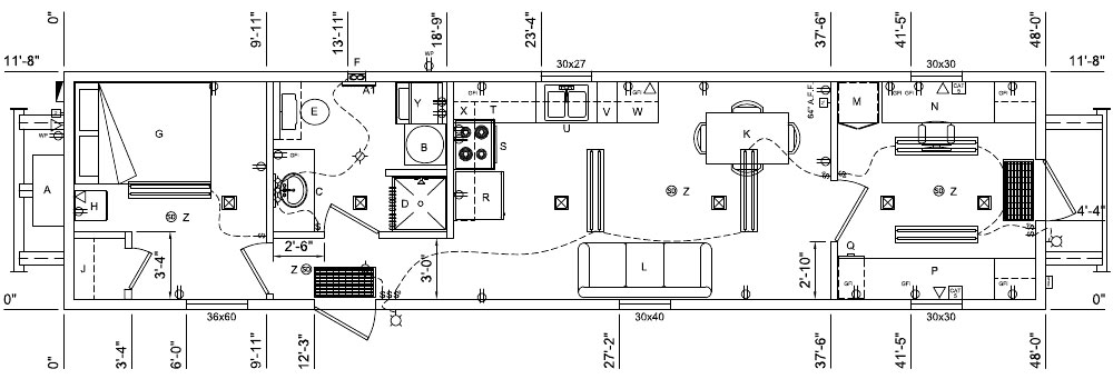 Housing for Toolpusher Modular Building for Toolpusher  : floor plan toolpusher1 from ariesbuildings.com size 1000 x 341 jpeg 65kB