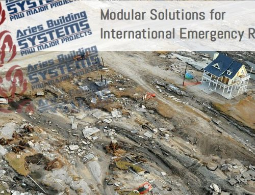 Immediate Modular Buildings for Disaster Relief
