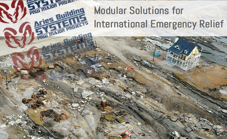 modular buildings for disaster relief