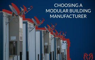 modular building manufacturer